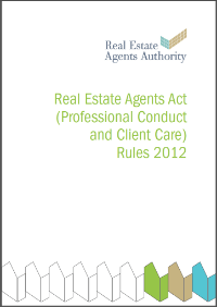 Real Estate Agents Act 2012