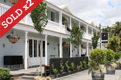 Sold - The White Swan Hotel, Greytown